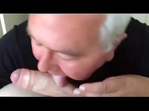 Getting my dick sucked by old craigslist guy